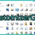 Windowsのアイコンやボタンを好きなデザインに変更できる「CustomizerGod」