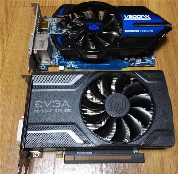 GeForce GTX1060 SC GAMINGと比較