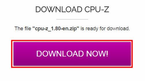 CPU-Zをインストール02