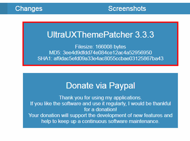 UXThemePatcherをダウンロード01