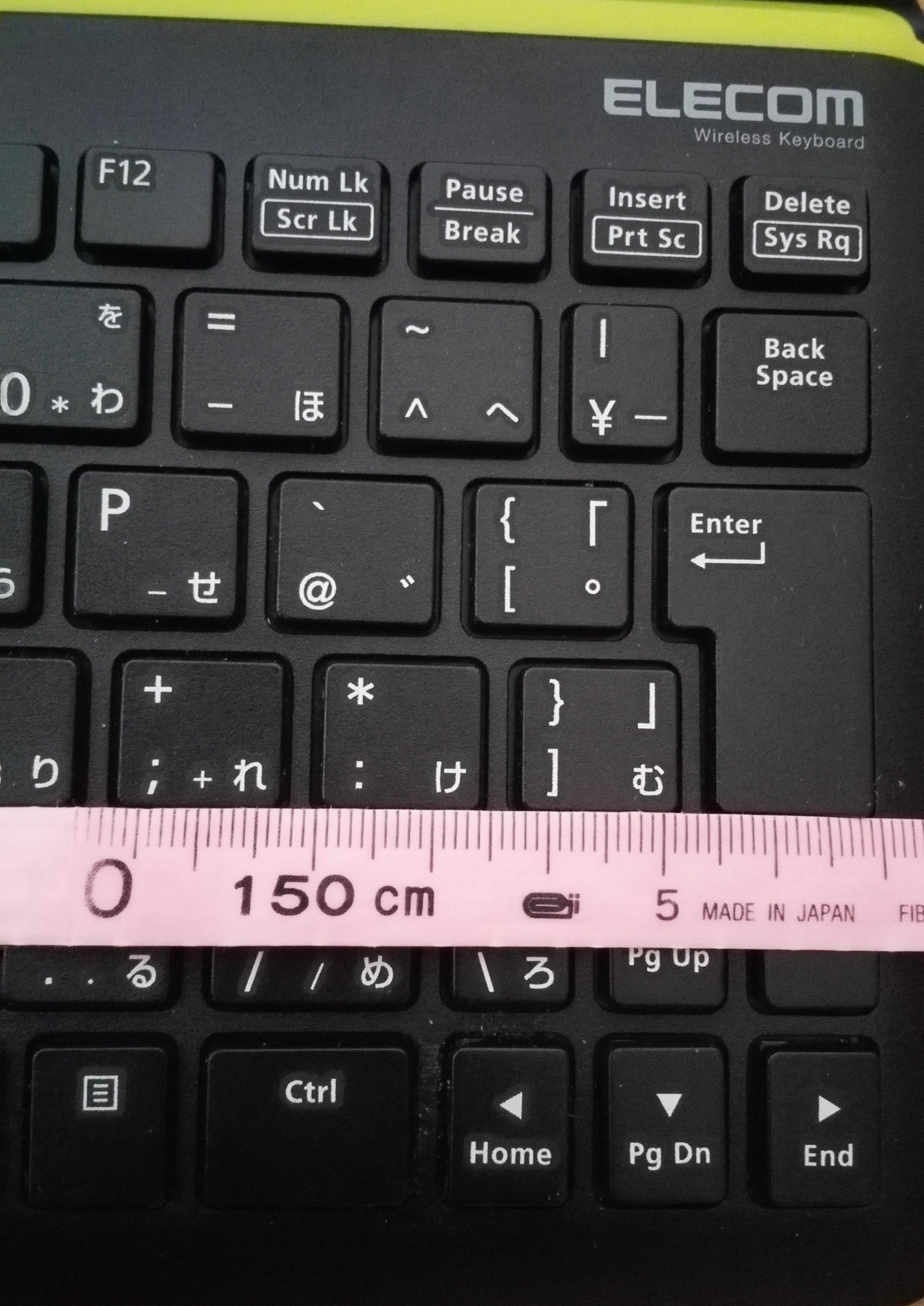 [エレコム TK-FBP067BKレビュー]WindowsやAndroidのタブレットをノートパソコン風に使用できるキーボード03