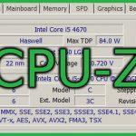 パソコンに搭載されているCPUの型番や性能がひと目でわかる「CPU-Z」
