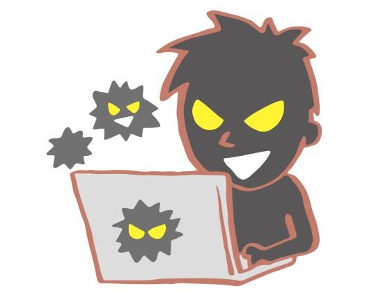 パソコンの脆弱性を悪用する
