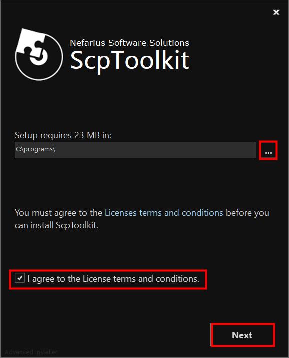 ScpToolkitをインストール01