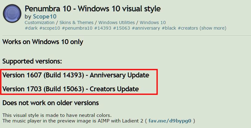 非公式テーマをWindows10に適応する02