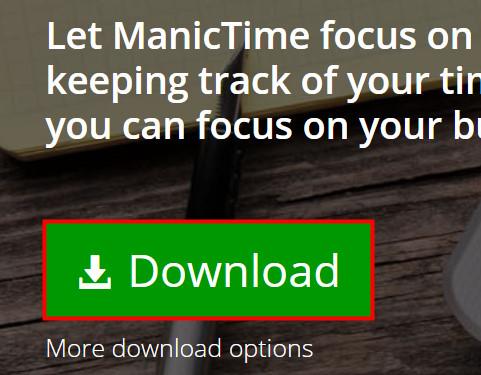 ManicTimeをダウンロード01
